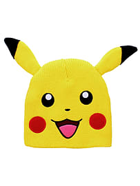 Pokemon Pikachu With Ears Yellow Pkmn Beanie: One Size Fits AllClothing and Merchandise
