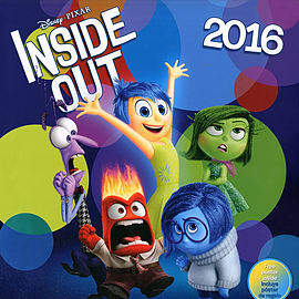 Inside Out 2016 Square Calendar 30x30cmBooks
