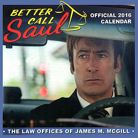Better Call Saul 2016 Square Calendar 30x30cmBooks