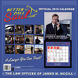 Better Call Saul 2016 Square Calendar 30x30cm screen shot 1