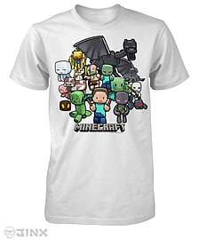 Minecraft Party T-shirt - SClothing and Merchandise