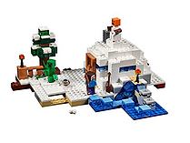 Lego Minecraft The Snow Hideout - 21120 screen shot 1