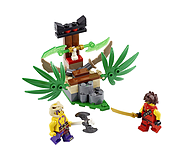 LEGO Ninjago Jungle Trap - 70752 screen shot 1