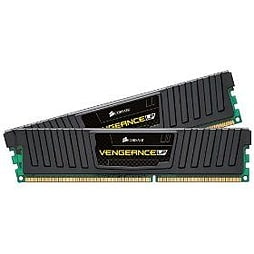 Corsair Vengeance Low Profile 16gb (2 X 8gb) Memory Kit Pc3-12800 1600mhz Ddr3 Dimm UnbufferedPC