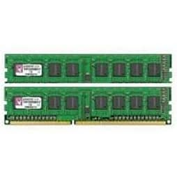 Kingston ValueRAM (16GB) (2x8GB) 1600MHz DDR3 Non-ECC 240-pin CL11 DIMM Memory ModulePC