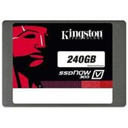 Kingston SSDNow V300 240GB SATA 3 2.5 inch Solid State Drive with AdapterPC