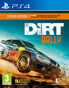 DiRT Rally Legend EditionPlayStation 4Cover Art