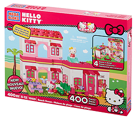 Mega Bloks Hello Kitty Beach HouseBlocks and Bricks