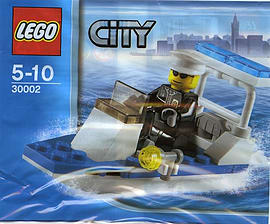 LEGO City: Police Boat Set 30002 (Bagged)Blocks and Bricks