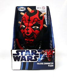 Star Wars Medium Talking Darth Maul PlushToys and Gadgets