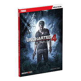 Uncharted 4 : A Thief's End Standard Edition GuideBooks