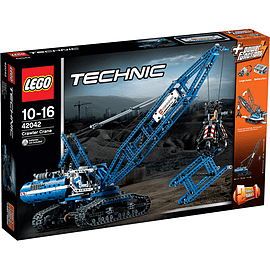 LEGO Technic Crawler Crane 42042Blocks and Bricks