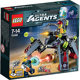 LEGO Ultra Agents Spyclops Infiltration 70166Blocks and Bricks