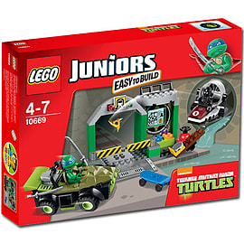 LEGO Juniors Turtles Lair 10669Blocks and Bricks
