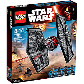 LEGO Star Wars First Order Special Forces TIE fighter 75101Blocks and Bricks