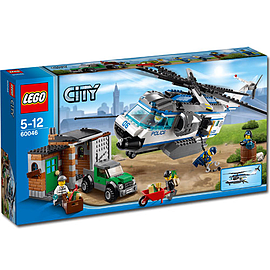 LEGO City Helicopter Surveillance 60046Blocks and Bricks