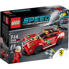 LEGO Speed Champions Ferrari 458 Italia GT2 Car 75908Blocks and Bricks