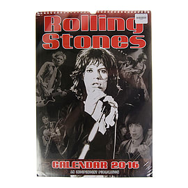 Rolling Stones - Unofficial 2016 Calendar - Classic Rock Merch - Christmas GiftBooks