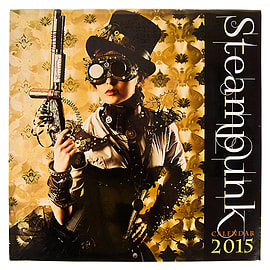 New Steampunk Fantasy Cosplay Photography 2015 Annual Planner Calendar GiftsBooks