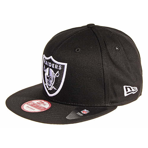 a046c4b7d Buy Black & White New Era Oakland Raiders 9FIFTY Snapback NFL Cap ...
