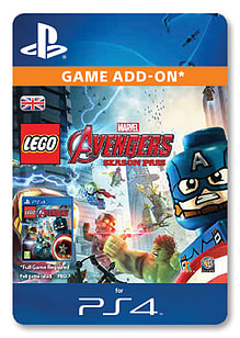 LEGO® Marvel's Avengers Season Pass (PlayStation 4) PlayStation 4 Cover Art