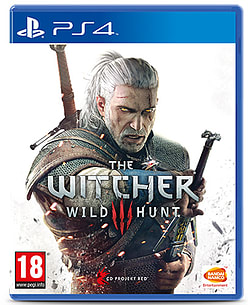 The Witcher 3: Wild HuntPlayStation 4Cover Art
