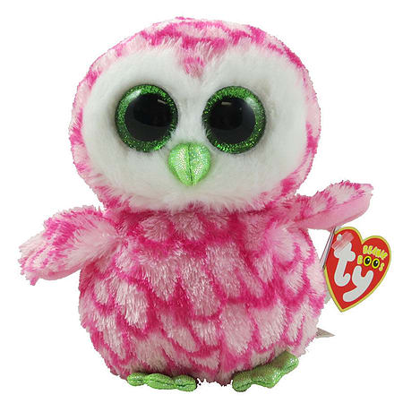 Buy TY Beanie Boo Plush - Bubbly The Owl 15cm (UK Exclusive)  a9fa688416d7