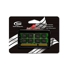 Team Elite 4Gb Sodimm 1X4gb Ddr3 1333Mhz Pc3-10600 Cl9 TED34G1333C9-S01PC