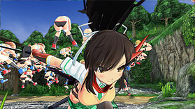 Senran Kagura Estival Versus screen shot 5
