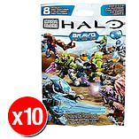 Halo Mega Bloks Series Mystery Packs Bravo Series x10 screen shot 1
