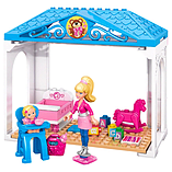 Mega Bloks Barbie Build-n-Play Babysitter Barbie Building Kit screen shot 2