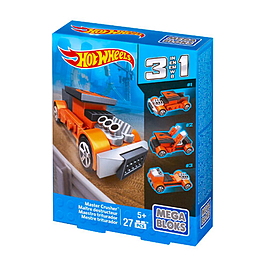 Mega Bloks Hot Wheels 3 in 1 Master CrusherBlocks and Bricks