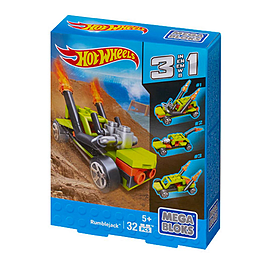 Mega Bloks Hot Wheels 3 in 1 RumblejackBlocks and Bricks