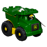 Mega Bloks John Deere Large Dump Truck screen shot 1