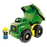 Mega Bloks John Deere Large Dump Truck screen shot 2