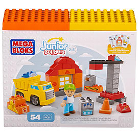 Mega Bloks Junior Builders Cool Construction SiteBlocks and Bricks