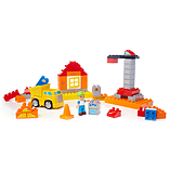Mega Bloks Junior Builders Cool Construction Site screen shot 2