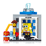Mega Bloks Square Pants Photo Booth Time Machine Building Set screen shot 2