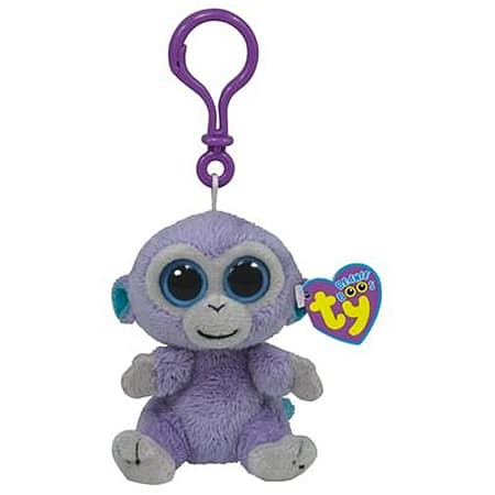 31995389780 Buy Ty Beanie Boo Boos 3 Key Clip - Blueberry the Monkey