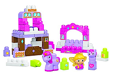 Mega Bloks First Builders Little Princess Pretty Pony Palace screen shot 2