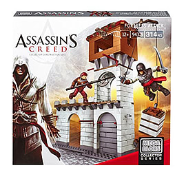 Mega Bloks Assassin's Creed Fortress AttackBlocks and Bricks