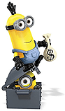 Mega Bloks Minions Movie Station Wagon Getaway screen shot 3