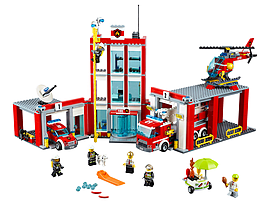 Lego City Fire Station 60110Blocks and Bricks