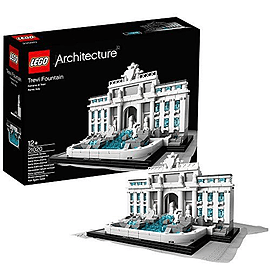 Lego Architecture : Trevi FountainBlocks and Bricks