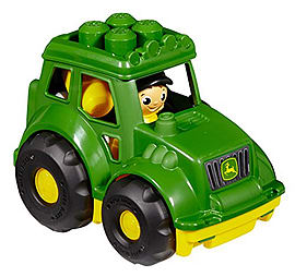 Mega Bloks John Deere TractorBlocks and Bricks