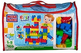 Mega Bloks Deluxe Building BagBlocks and Bricks