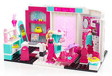 Mega Bloks - Barbie Build 'n Style Fashion Boutique - Toy Playset screen shot 2