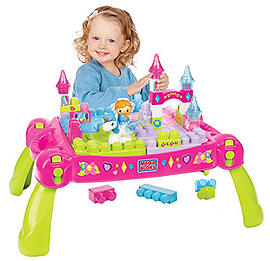 Mega Bloks Lil Princess Play-n-Go Fairytale TableBlocks and Bricks