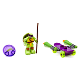 Mega Bloks Teenage Mutant Ninja Turtles Half-Shell Heroes Donnie with Skateboard screen shot 2