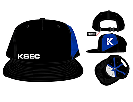Mirrors Edge Black/Blue Snapback CapClothing and Merchandise